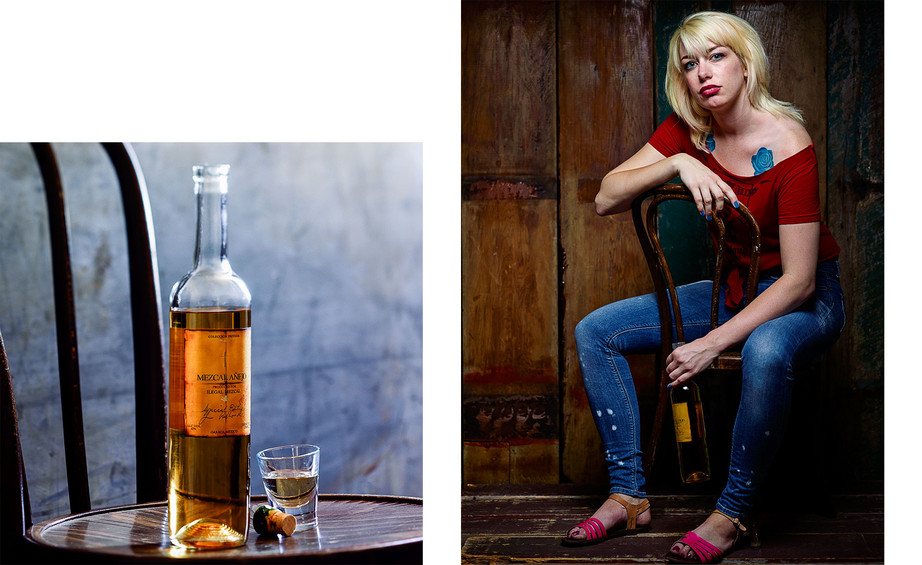 Brittany for Ilegal Mezcal by Leo Gong portrait photography